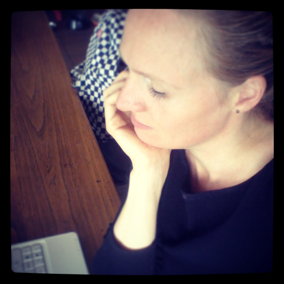 Marie-Louise (aan het werk, jawel)