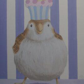 schilderij cupcake, cupcake love
