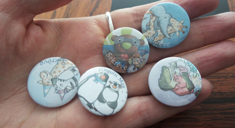 hand met buttons