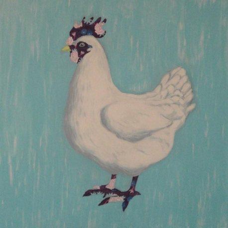 kippenschilderij, kip