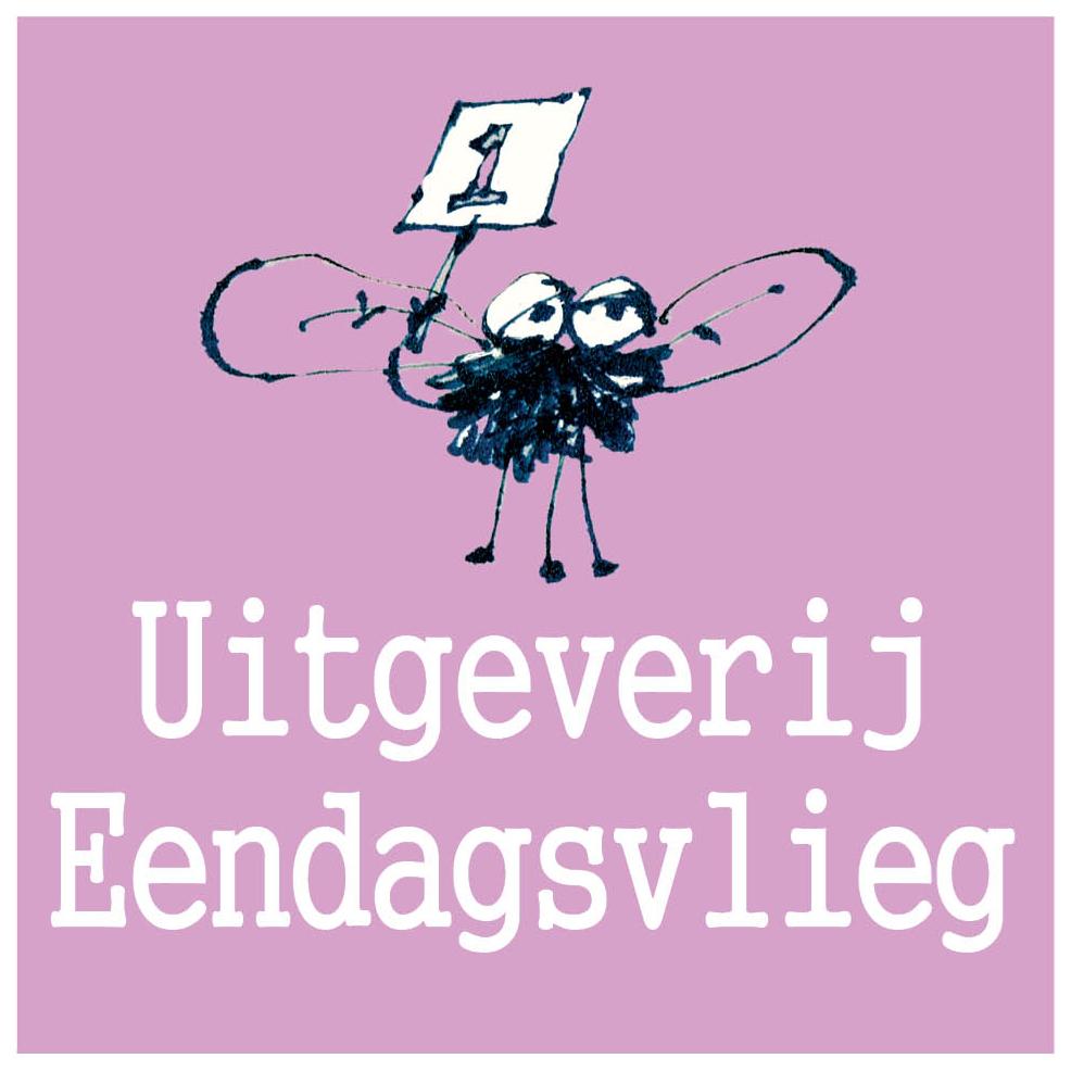 logo uitgeverij eendagsvlieg