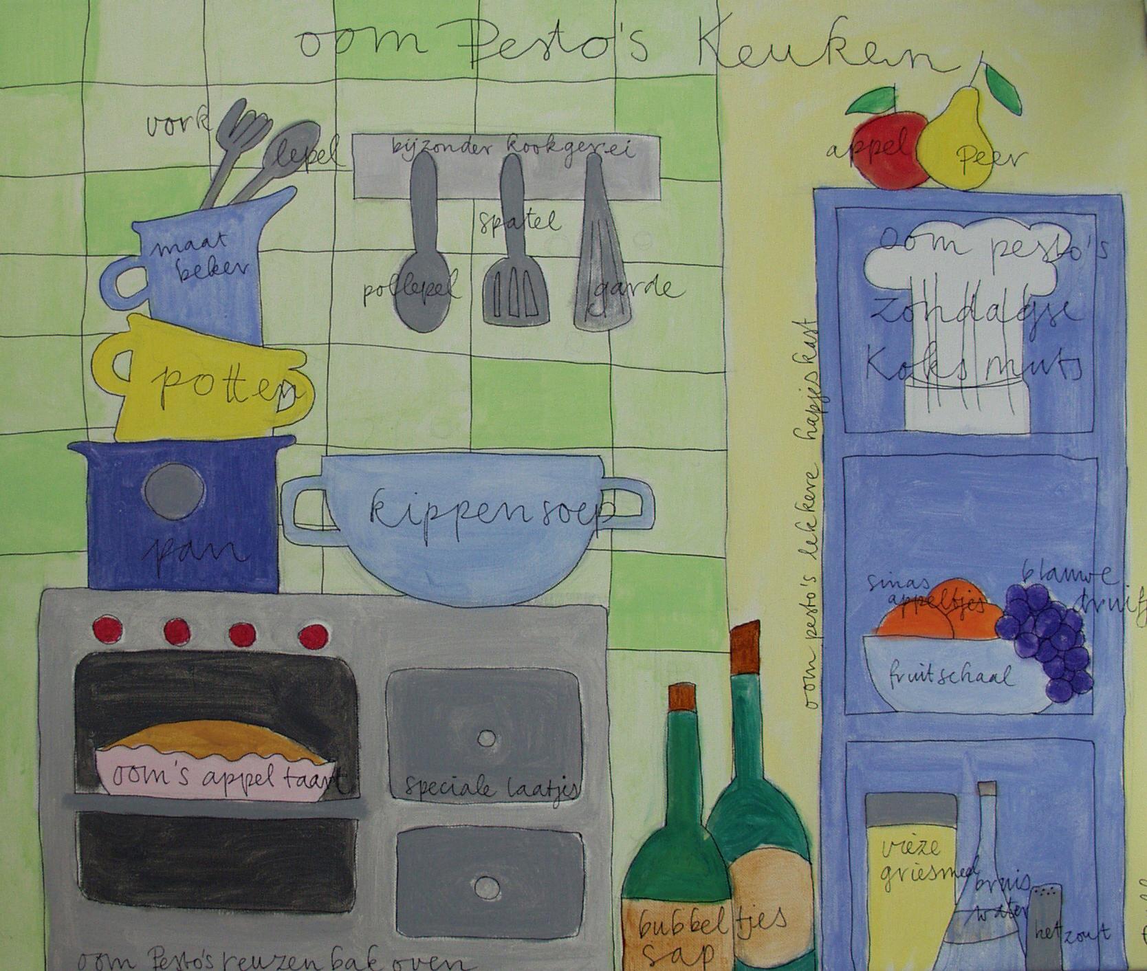 oom Pesto's keuken