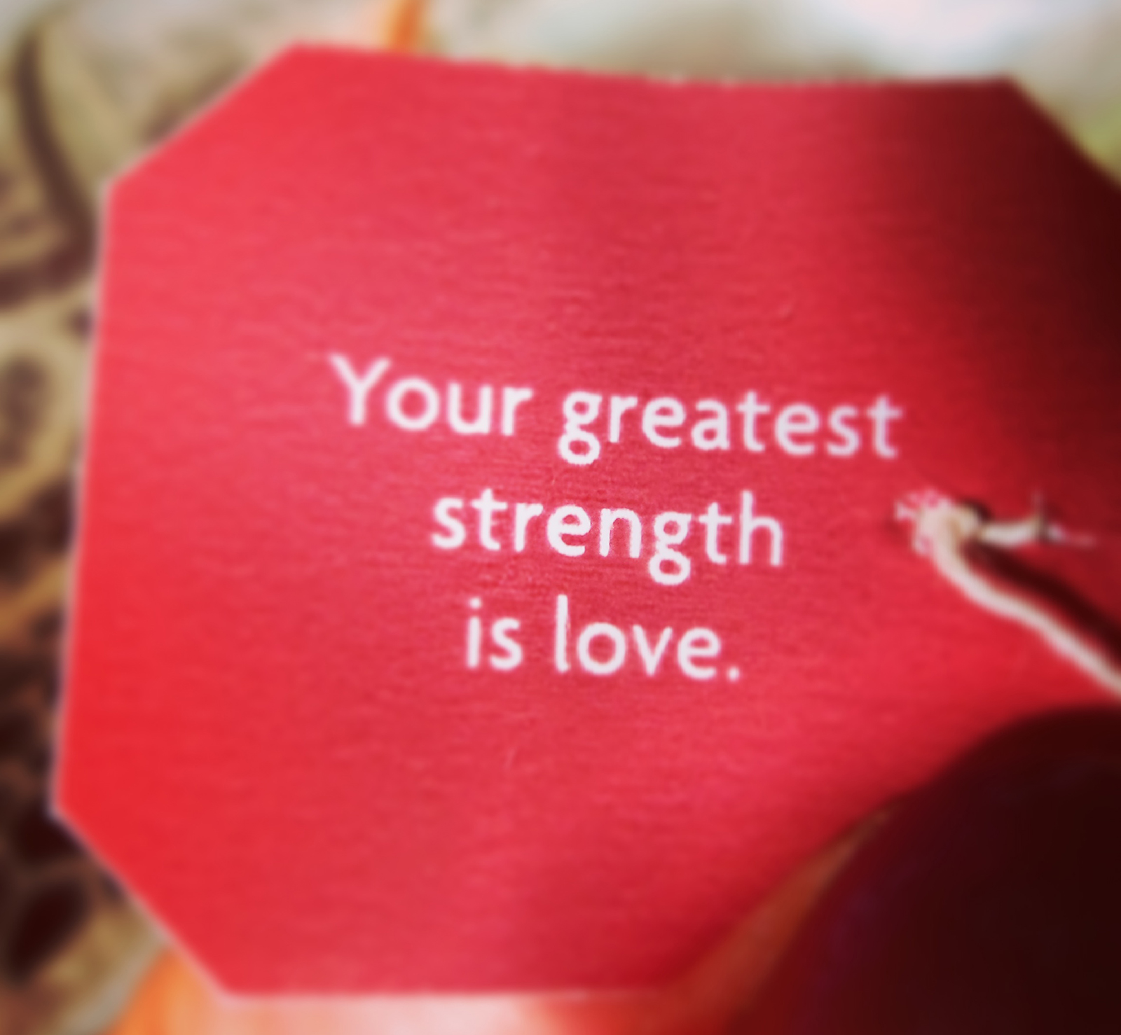 your strength
