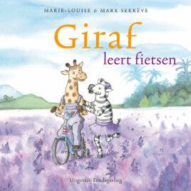 Giraf leert fietsen prentenboek fiets