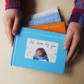 valentijnsactie, valentijn, de boekjes van pinguin max,, ik hoor bij jou